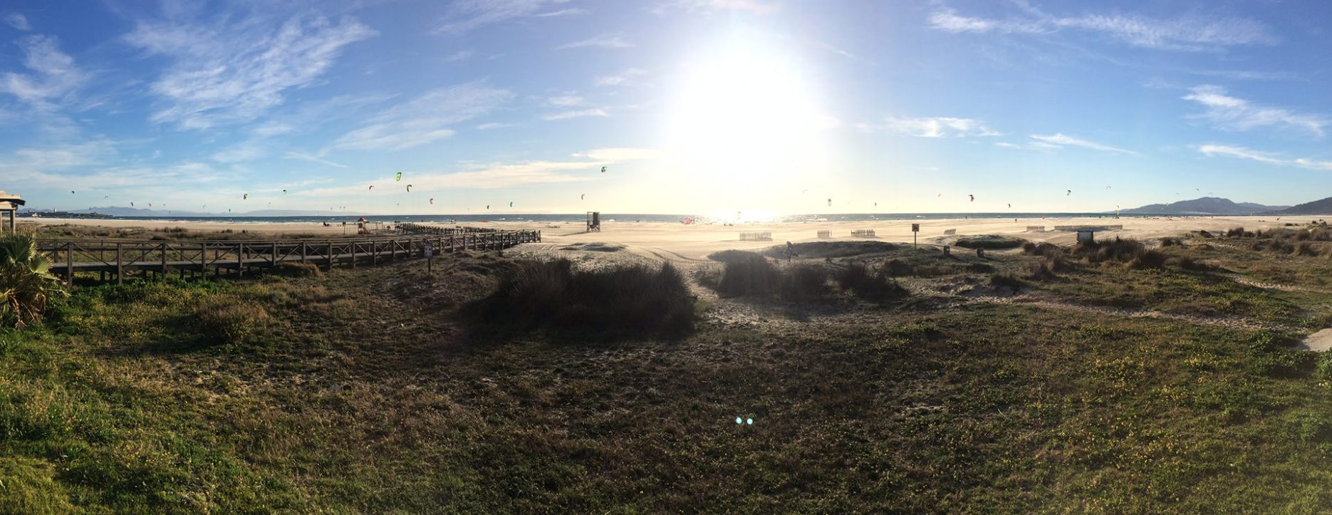 #Kite #Beach - #Tarifa #Spain - Feb 2015